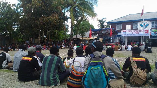 Aksi 1 Mei 2017 di timika (1)