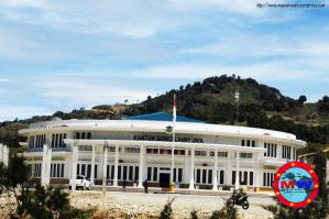 Kantor Bupati Lanny Jaya Seperti Istana